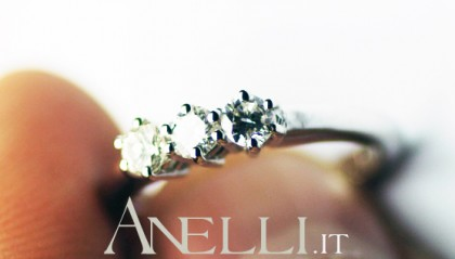 Anello trilogy 0,30 carati (F-IF)