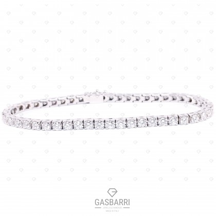 Bracciale Tennis con Diamanti 10 carati G-VS1