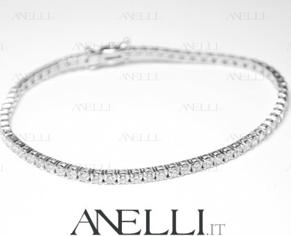 Bracciale Tennis diamanti 7 ct D-VVS1