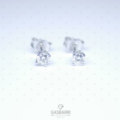 Orecchini Diamanti 0.50 Carati D-VS1